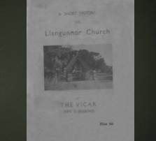 A Short History of Llangunnor Church by Reverend James Jenkins